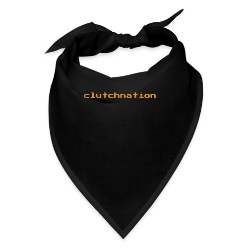 clutchnation LIMTED TIME GOLD VG MERCH!!!! - Bandana