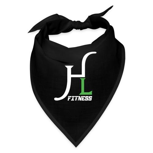 HIIT Life Fitness Logo White - Bandana