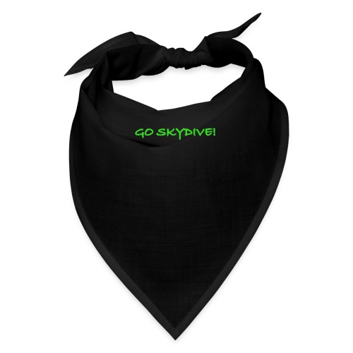 Go Skydive T-shirt/Book Skydive - Bandana