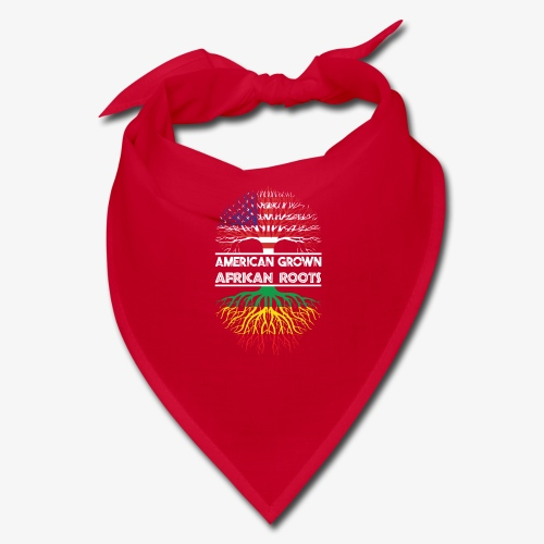 American Grown With African Roots T-Shirt - Bandana