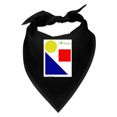 Hi I'm Ronald Seegers Collection-I Love Shapes - Bandana