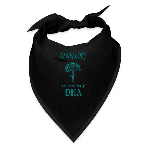 genealogy is in my dna funny birthday gift - Bandana