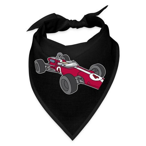 Red racing car, racecar, sportscar - Bandana