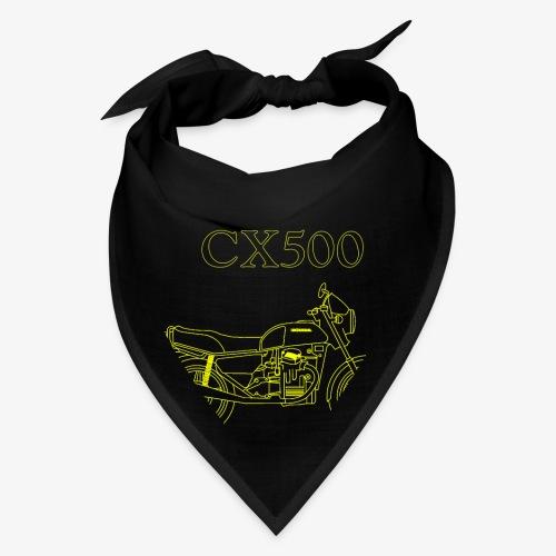 CX500 line drawing - Bandana