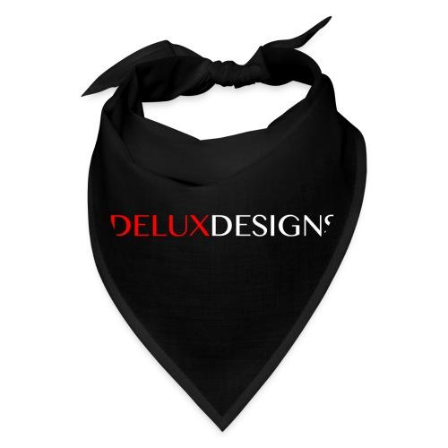 Delux Designs (white) - Bandana
