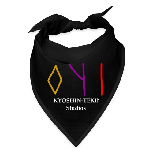 Kyoshin-Tekina Studios logo (white text) - Bandana