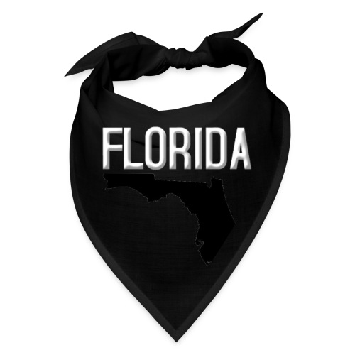 FLORIDA REGION MAP WHITE - Bandana