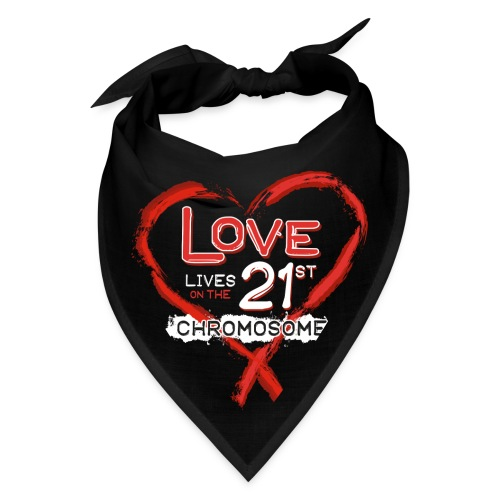 Down Syndrome Love (Red/White) - Bandana