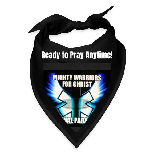MightyWarrior PrayAnytime White - Bandana
