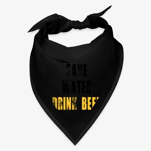 Save water drink beer - Bandana