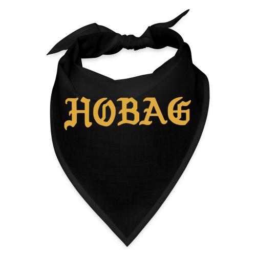 BLACK - HOBAG LETTERING - Bandana