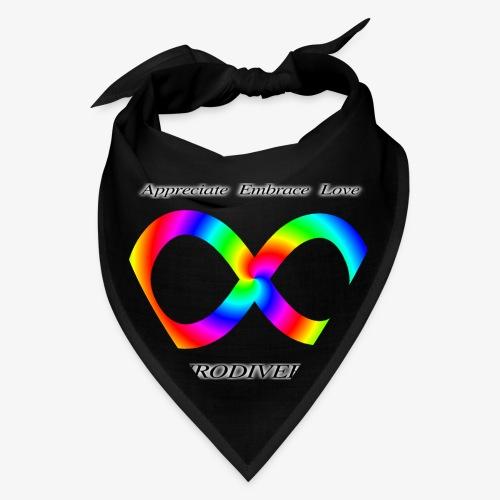 Embrace Neurodiversity with Swirl Rainbow - Bandana