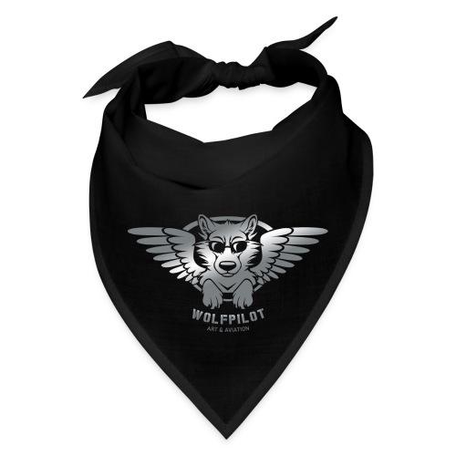 Wolfpilot Logo Silver - Bandana