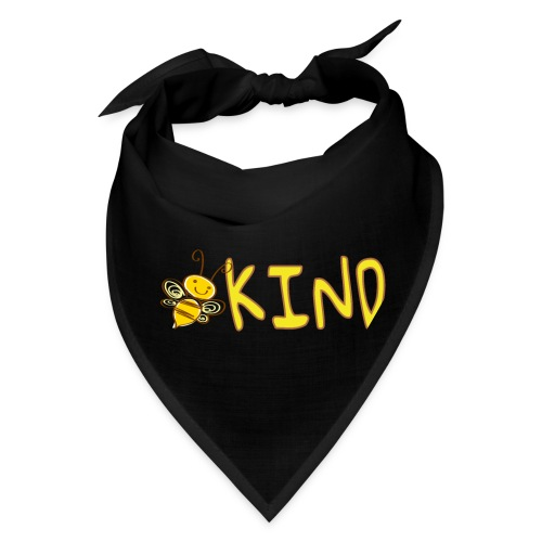 Be Kind - Adorable bumble bee kind design - Bandana