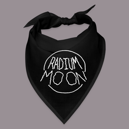 Radium Moon White - Bandana