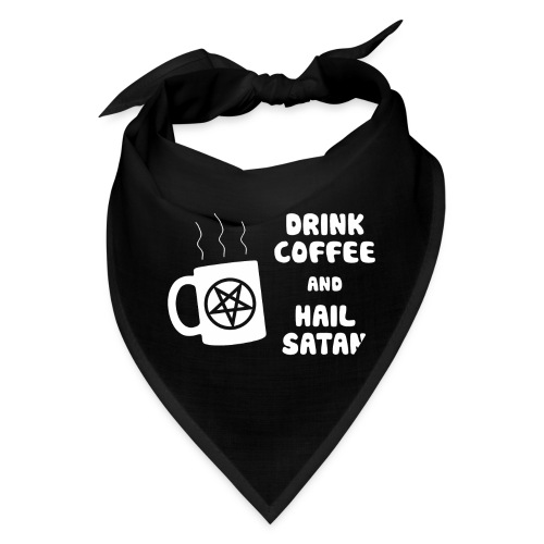 Drink Coffee, Hail Satan - Bandana