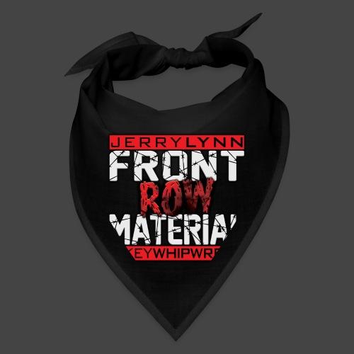 Front Row Material Logo - Bandana
