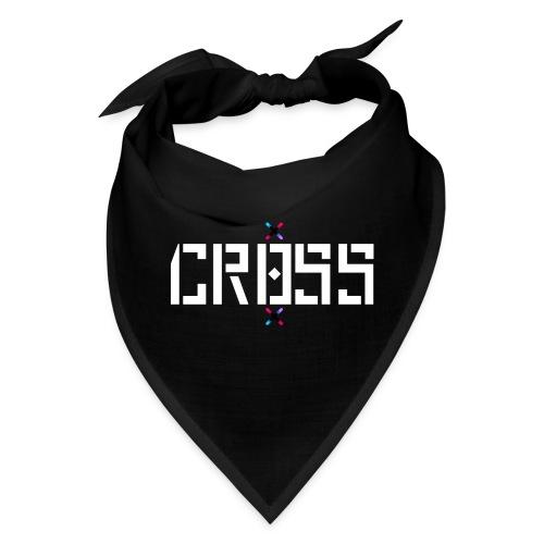 Cr0ss logo white - Bandana