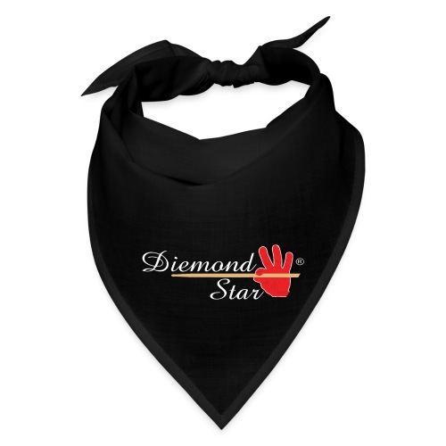 Diemond Star Logo White Font - Bandana