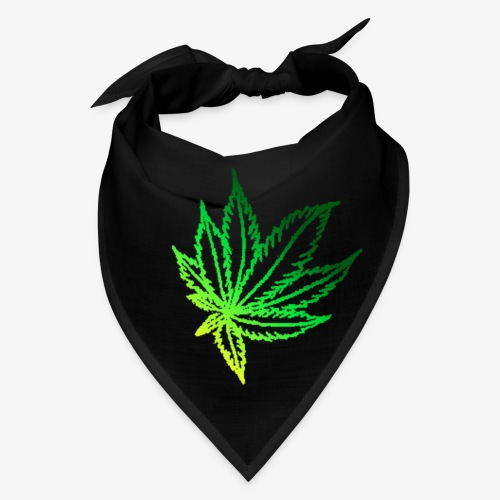 green leaf - Bandana