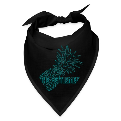 Pineapple with Band Name | The Settlement - Bandana