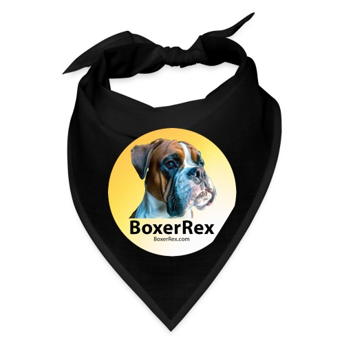 Boxer Rex logo - Bandana