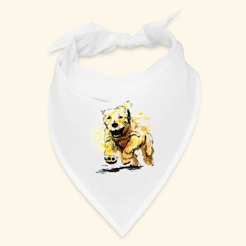 oil dog - Bandana