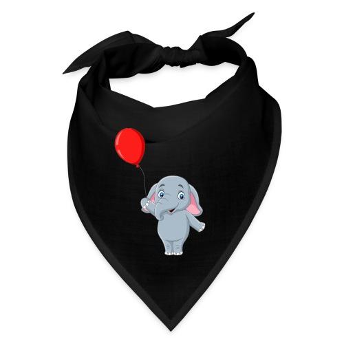 Baby Elephant Holding A Balloon - Bandana