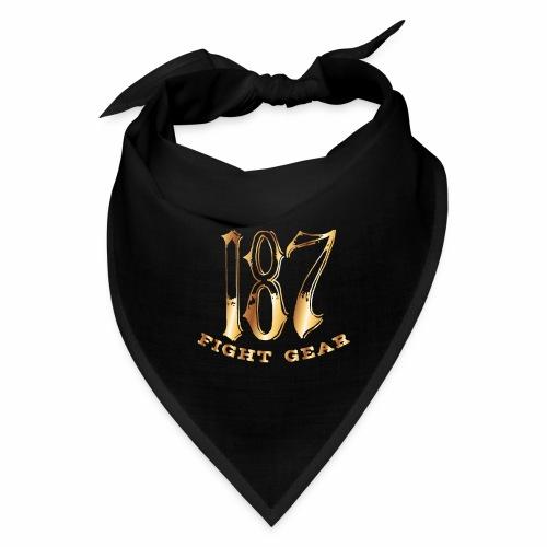 187 Fight Gear Gold Logo Street Wear - Bandana