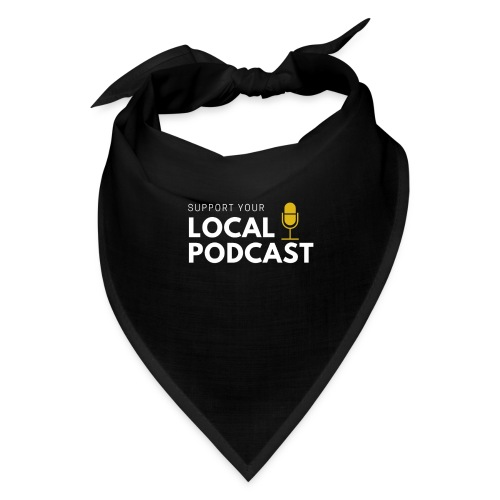 Support your Local Podcast - Local 724 logo - Bandana