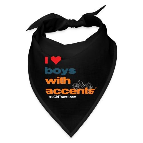 accentsWhite png - Bandana