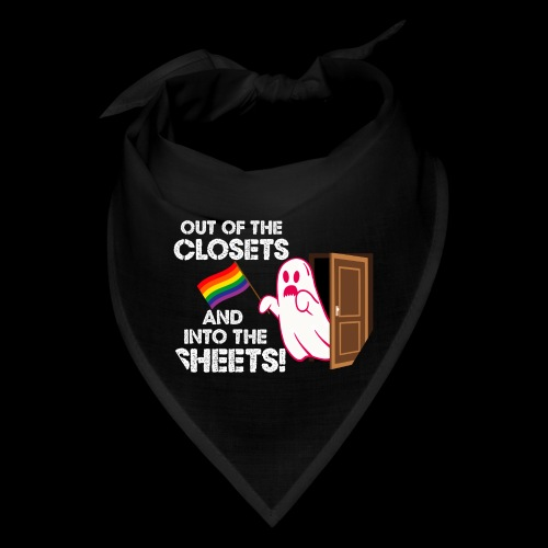 Out of the Closets Pride Ghost - Bandana