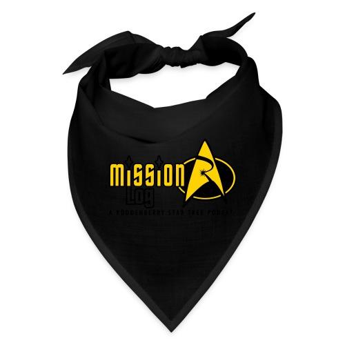Logo Wide 2 Color Black Text - Bandana