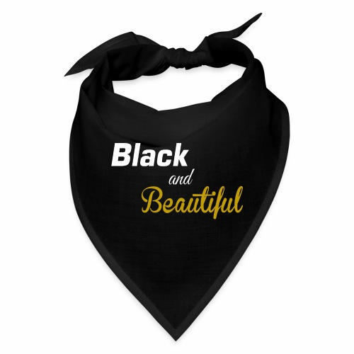Black & Beautiful Long Sleeve Shirt - Bandana