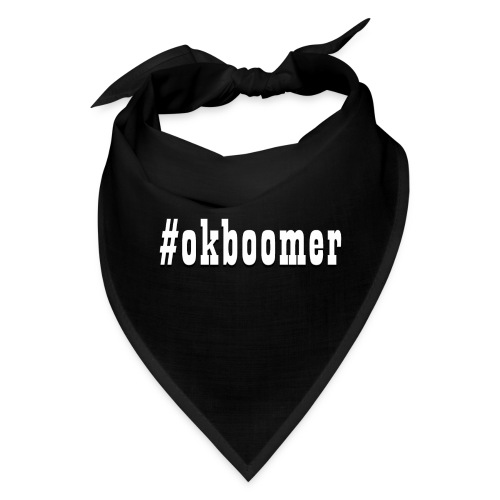 #okboomer - Bandana