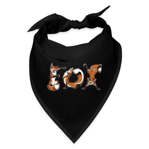 YOGA Foxes - Bandana