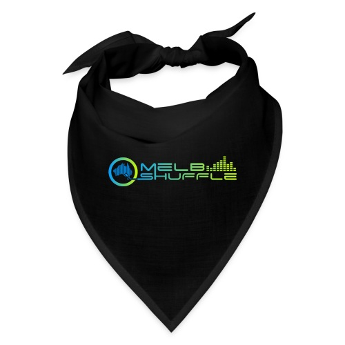 Melbshuffle Gradient Logo - Bandana