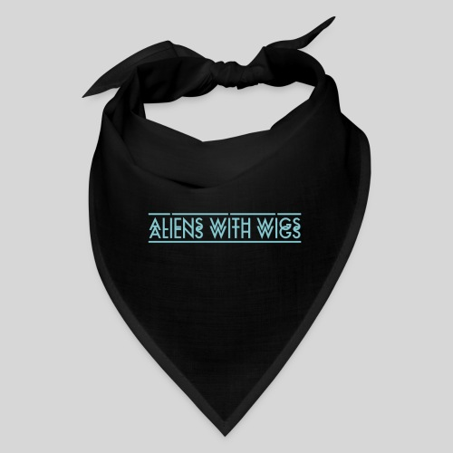 AliensWithWigs-Logo-Bleu - Bandana