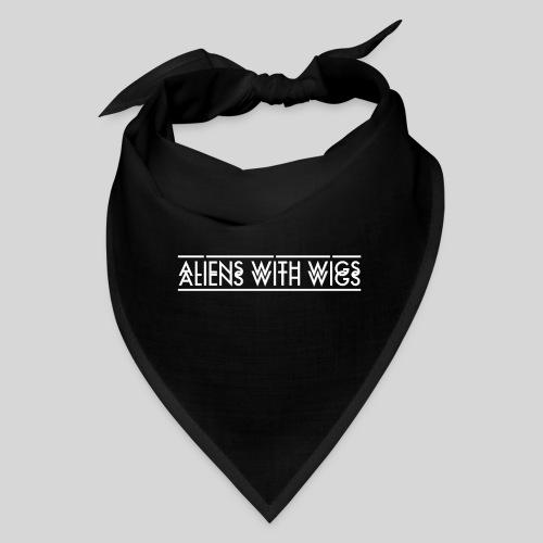 AliensWithWigs-Logo-Blanc - Bandana