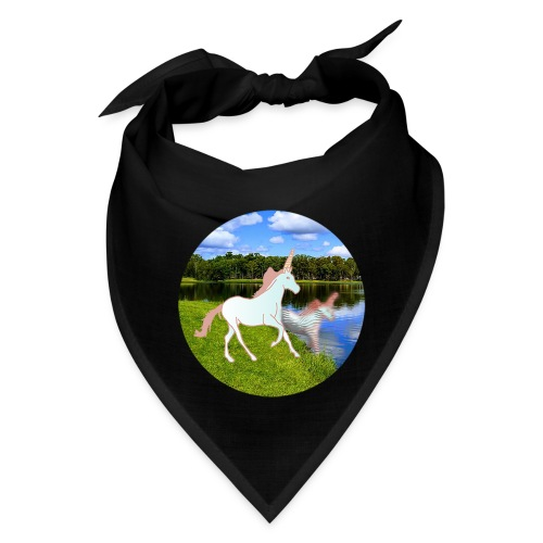 unicorn in reflection - Bandana