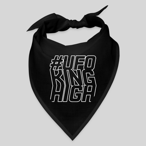 ALIENS WITH WIGS - #UFOKingHigh - Bandana