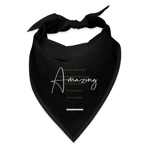 AMAZING (White Design) - Bandana