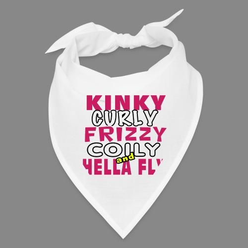 Kinky Curly Frizzy - Bandana