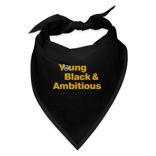 YBA Black and Gold Shirt2 - Bandana