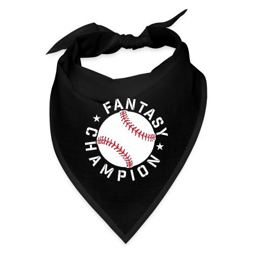 Fantasy Baseball Champion - Bandana