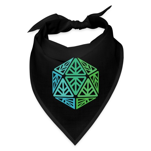 Green Leaf Geek Iconic Logo - Bandana