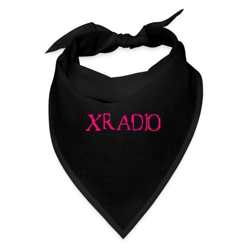 XRADIO pink logo - Bandana