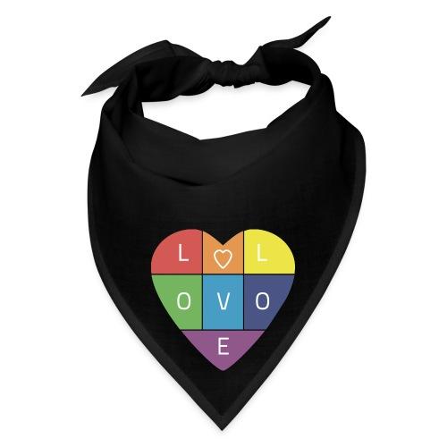 Rainbow Heart - Bandana
