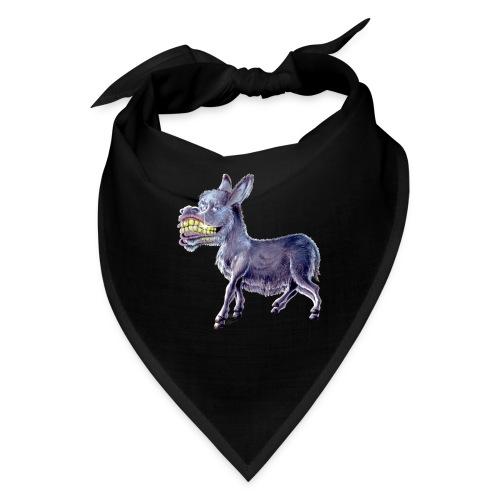 Funny Keep Smiling Donkey - Bandana