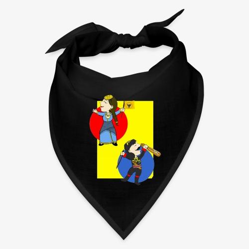 Cartoon - Pontios/lyra & Pontia/flag - Bandana